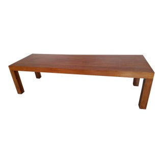 1960s Mid-Century Modern Henredon Coffee Table For Sale