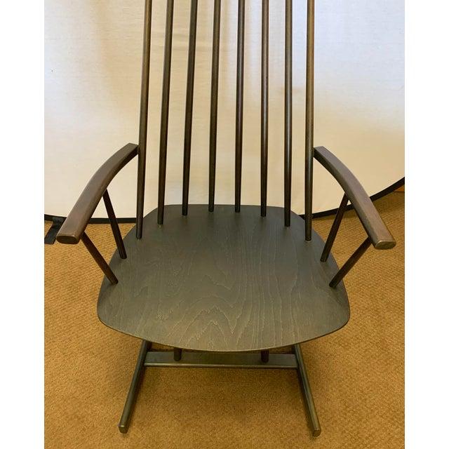 Mid-Century Modern Danish Mid Century Mobler Rocker Rocking Chair For Sale - Image 3 of 9