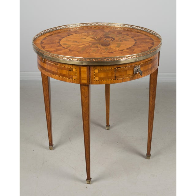 1960s French Louis XVI Style Side Table For Sale - Image 4 of 10