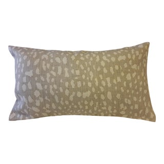 Animal Skin Accent Pillow Covers - a Pair For Sale