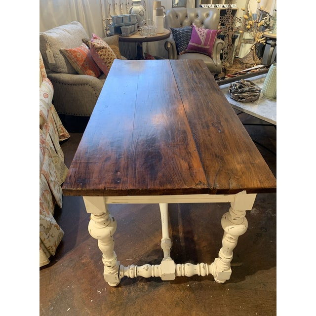 1910s 1910s French Farm Table For Sale - Image 5 of 13