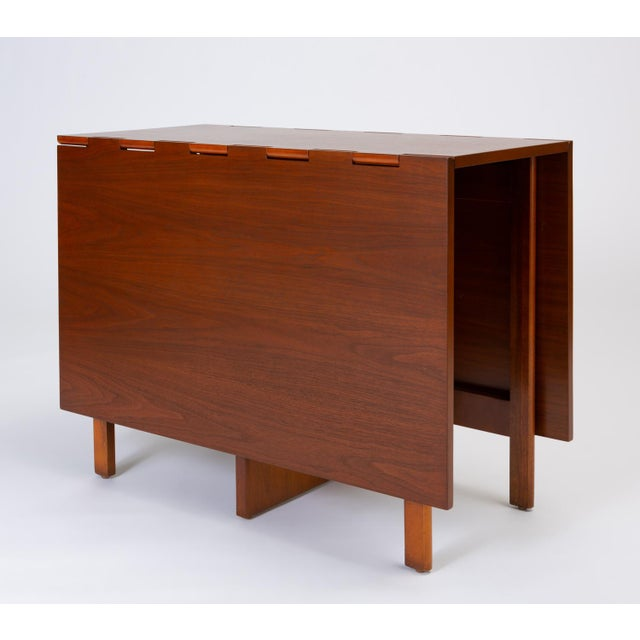 Brown Model 4656 Gateleg Table by George Nelson for Herman Miller For Sale - Image 8 of 13