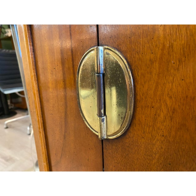 Brown Midcentury Credenza Signed by Lane Furniture For Sale - Image 8 of 12