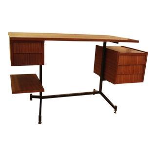 1970s Italian Modern Osvaldo Borsani Tecno Desk For Sale