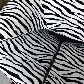 1980s Vintage Zebra Design Pierre Paulin Chair Preview
