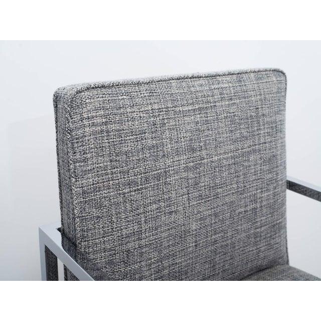 Chrome Milo Baughman Mid-Century Modern Desk Chair For Sale - Image 7 of 10