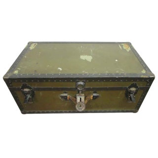 GI Steamer Army Trunk