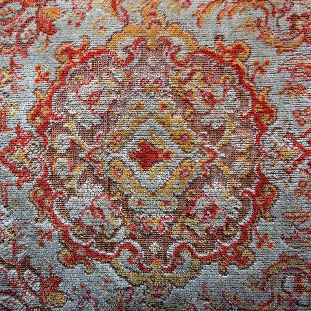 19th Century English Ebonised Carpet Stool For Sale - Image 4 of 13
