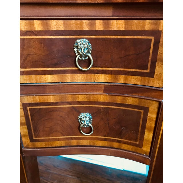Traditional Hickory Chair Company Huge Mahogany Sideboard For Sale - Image 3 of 9