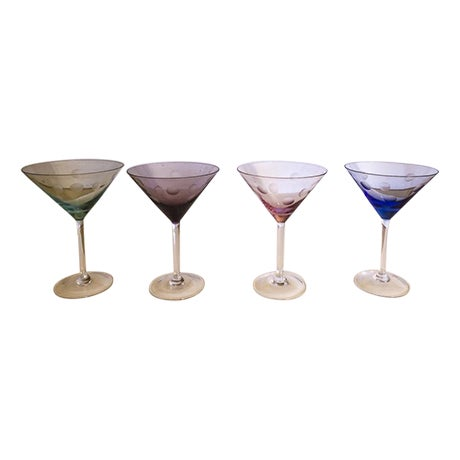 Waterford Marquis Martini Glasses - Set of 4 - Image 1 of 7