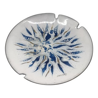 Mid Century Enamel Sascha B Ashtray For Sale