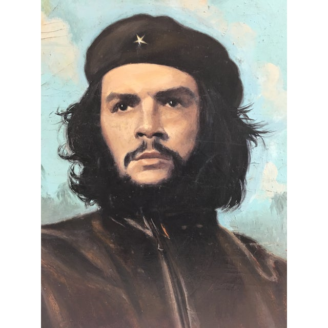 This stunning portrait of Cuban revolutionary Che Guevara is must-have for any history lover. The Argentine born Guevara...
