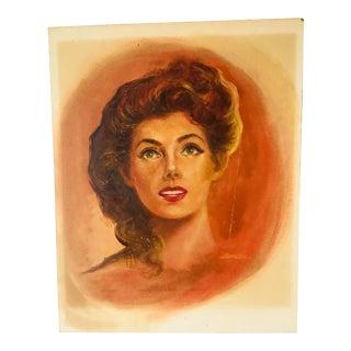 Pulp Fiction Girlie Illustration Art 1950-60's Peter Lay For Sale