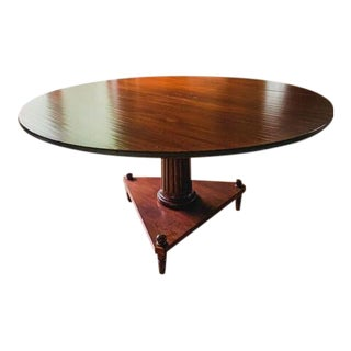 "Traditional Niermann Weiks 60"" Dining Table For Sale"