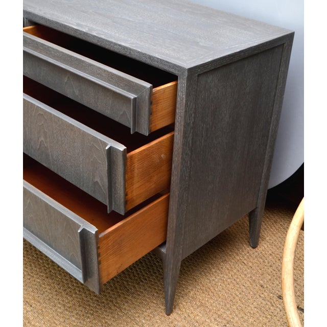 Century Furniture of Distinction Gray Finish Credenza For Sale - Image 5 of 7