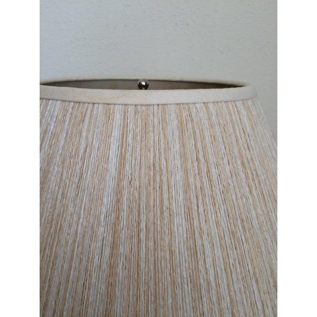 Richard Lindley Rattan Basket Lamp - Image 9 of 9