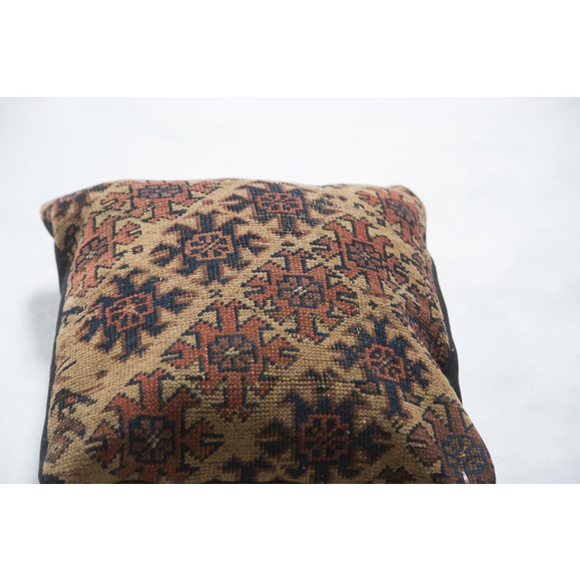 Old New House Original and exclusive handmade pillow featuring reclaimed hard-to-come-by unique rug fragment. Truly...