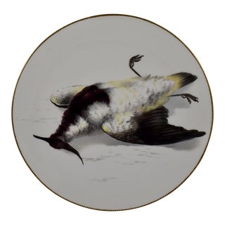 19th C. Bodley Staffordshire Dead Game Plate, the Plover