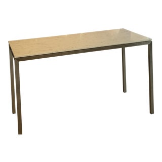 Modern Rooms & Board Marbletop Table For Sale