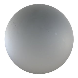 Frosted Glass Sphere