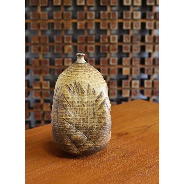 Tim Kennan Ceramic Vase For Sale - Image 9 of 9