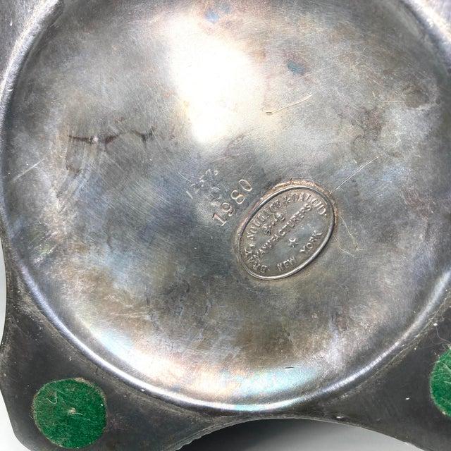 Metal Museum Quality American Antebellum Cruet Set For Sale - Image 7 of 9