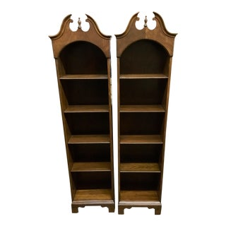 Refinished Matching Bookshelves - A Pair