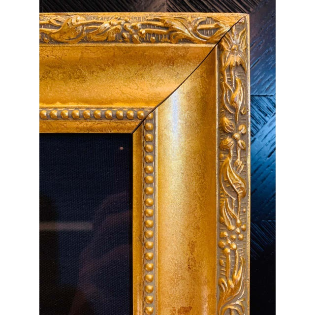 """Itzchak Tarkay Stereograph in Matted Gilt Frame """"Enchanted Moments"""" For Sale - Image 10 of 11"""