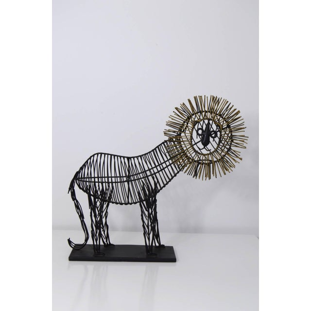Curtis Jere Style Sculpture of a Lion - Image 6 of 8