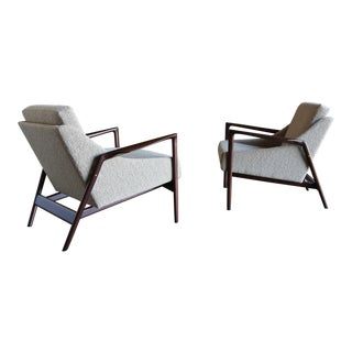 1960s Ib Kofod-Larsen Lounge Chairs - a Pair For Sale
