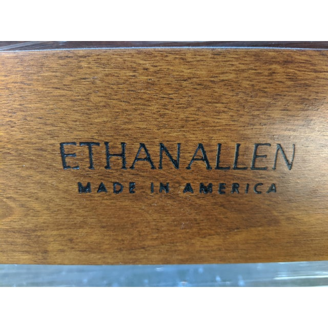 Brown Ethan Allen American Impressions Solid Cherry California King Bed For Sale - Image 8 of 9