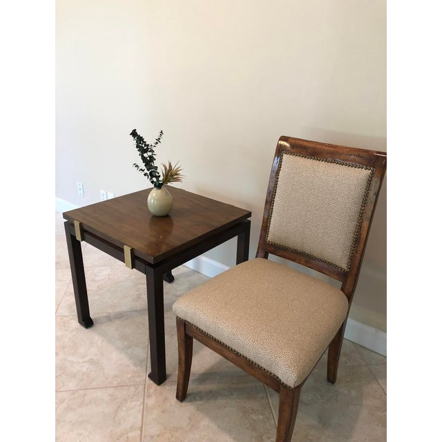 Bausman & Company Bench Made Side Chairs - Set of 4 For Sale - Image 11 of 13