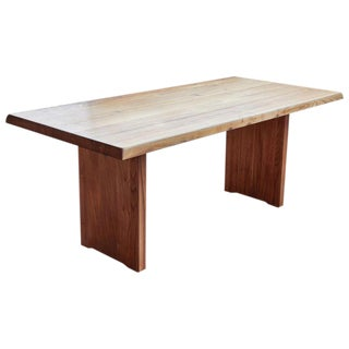 1960s Mid-Century Modern Pierre Chapo Dining Table For Sale