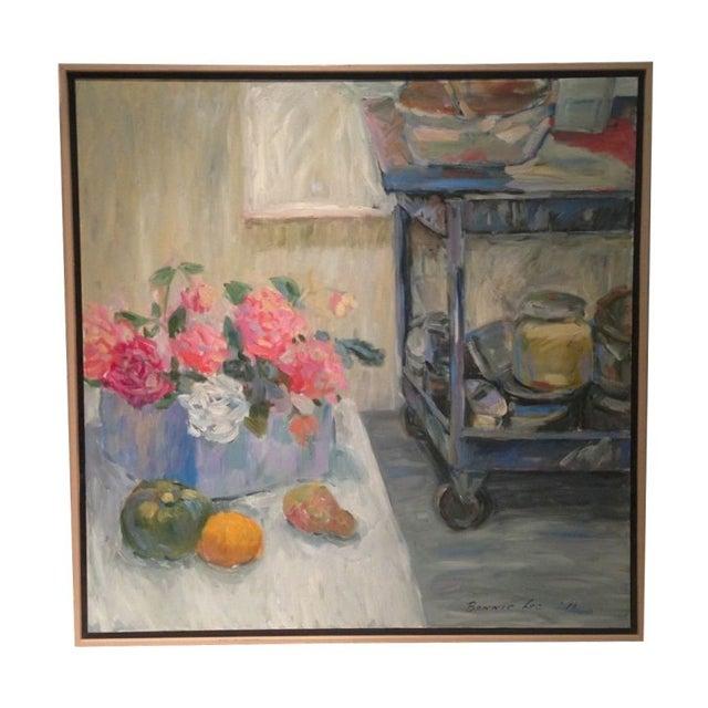 Studio Still Life Oil Painting For Sale