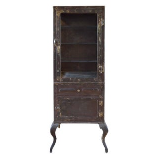 American Beveled Glass Display Cabinet