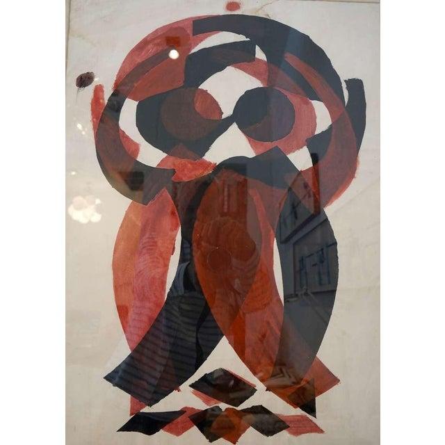 Art Deco Irving Lehman Modernist Original Work on Paper For Sale - Image 3 of 8