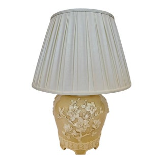 Chinoiserie Ceramic Table Lamp For Sale