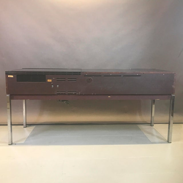 """1970s Blaupunkt GmbH """"Arizona"""" Rosewood & Chrome Stereo Console For Sale - Image 12 of 13"""