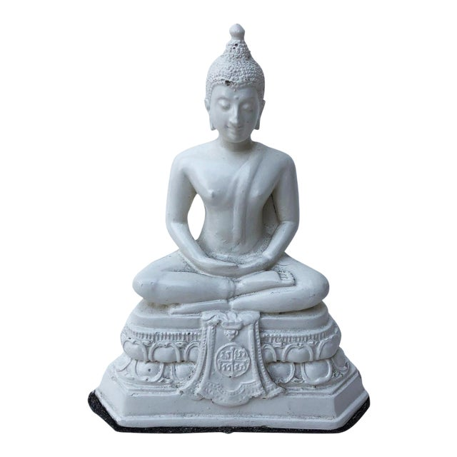 Serene Buddha Figurine For Sale