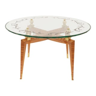 French Mid-Century Coffee Table, by Etienne-Henri Martin For Sale
