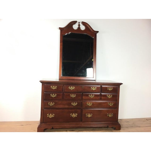 Lend beautiful storage space to a bedroom with an Antique, Georgian inspired dresser that would look fabulous in any...