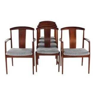 1960s Vintage Folke Ohlsson Dining Chairs- Set of 6 For Sale