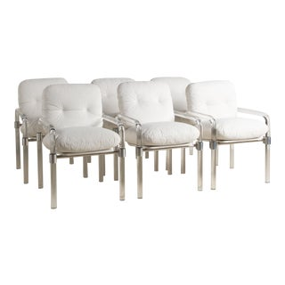 Set of 6 Lucite Dining Chairs by Jeff Messerchmidt For Sale