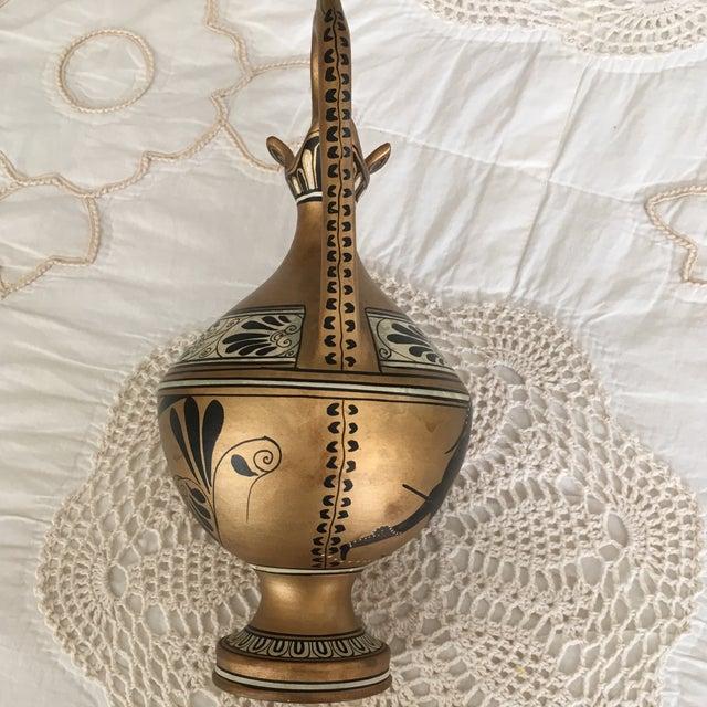 Vintage Numbered Greek Vase Pitcher of Theseus For Sale - Image 11 of 11
