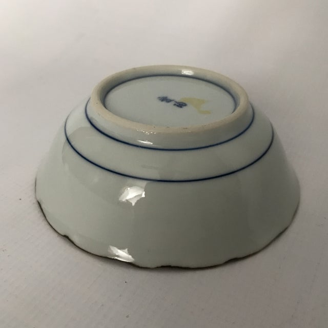 Blue & White Chinese Porcelain Bowl For Sale - Image 10 of 11