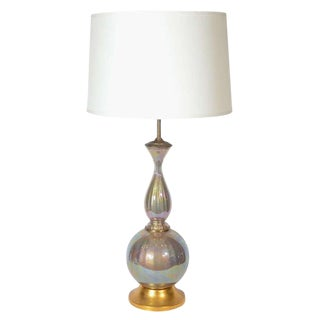 Mid-Century Modern Murano Baluster Lamp by Marbro For Sale