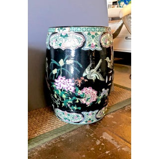20th Century Chinese Famille Noire Garden Seats - a Pair Preview