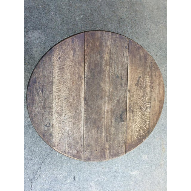Beautiful patina with marks full of character left throughout it's life, this table was originally fabricated for...