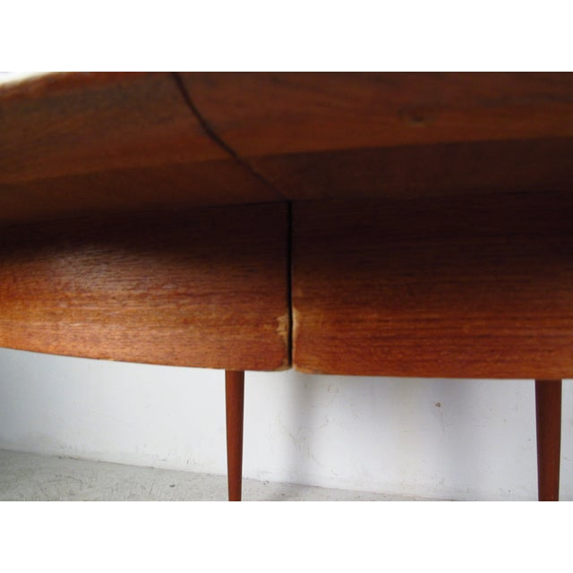 Mid-Century Teak Conference Table & 14 Eric Buck Dining Chairs For Sale - Image 10 of 10