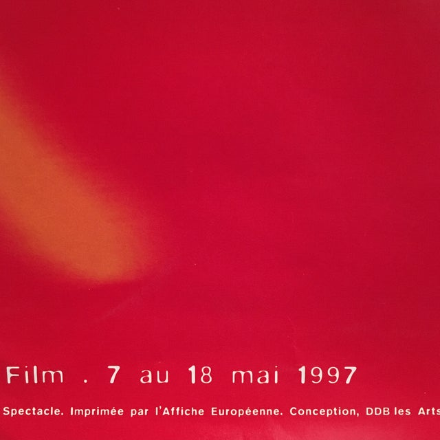 1990s 50th Cannes Film Festival Poster For Sale - Image 5 of 7